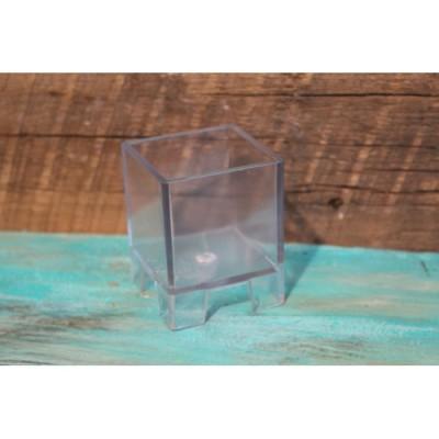 Moule à chandelle cube